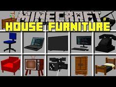 Minecraft furniture mod house furniture mod realistic furniture for Minecraft Mods For Pe, Minecraft Houses For Girls, Minecraft Houses Xbox, Minecraft Girl Skins, Minecraft Houses Blueprints, Minecraft House Designs, Minecraft Creations, Minecraft Crafts, Minecraft Tips