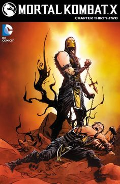 Scorpion Battles His Inner Demons to Save His Soul in this Mortal Kombat X #32 Preview
