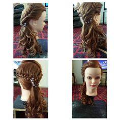 Prom, weddings hair style