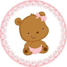 Kit Festa Pronta Ursinha  Baby grátis para imprimir
