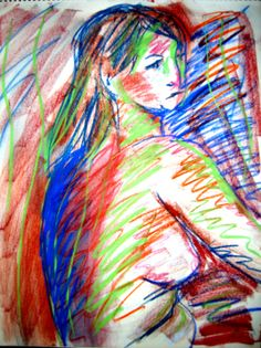 Pastel Nude 1 by DANJOYCEartworks on Etsy, $75.00