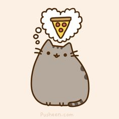 Pusheen pizza Informations About Is Pizza Safe For Cats? – Purrfect Love Pin Y… Gato Pusheen, Pusheen Love, Pusheen Stuff, Pusheen Stickers, Pusheen Stormy, Chat Kawaii, Nyan Cat, Cat Memes, Cat Love