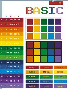 Blue Color Palette | Basic color schemes, color combinations, color palettes.