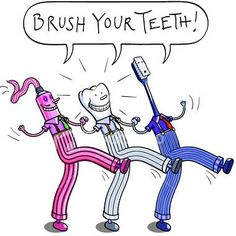 Brush your teeth twice a day with toothpaste that contains fluoride for at least two minutes each time to keep your teeth and mouth free of dental disease.    Dentaltown - Patient Education Ideas