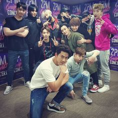 2PM CONCERT   #6NIGHTS  DAY-1   with #GOT7   귀여운 동생들~^^