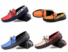 Mens Fashion Loafer Casual Shoes Synthetic Slip On Moccasin-gommino Driving Shoe