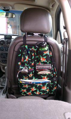 Adolescent Teenage Boy Football Star Car Organizer. $42.00, via Etsy.