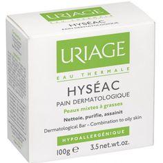 Uriage Hyséac Pain Dermatologique 100g - Pharmacie Lafayette - Acné & peaux grasses