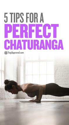 """Chaturanga is often part of a """"vinyasa"""" or """"flow"""" that yogis do on the way back to Downward Dog. It can also make a cameo in advanced sun salutations."""