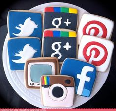 Social media not tangible enough for you? Try these social media cookies!