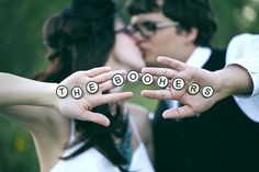 Valery & Jon's buttons and games sweet tooth wedding Wedding Photography Inspiration, Wedding Inspiration, Wedding Ideas, Offbeat Bride, Wedding Photos, Wedding Stuff, Mr Mrs, Cute Photos, Wedding Engagement
