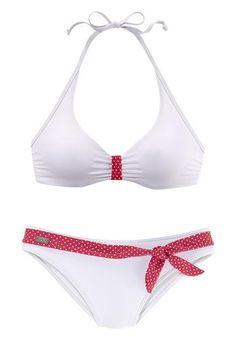 #BUFFALO #Damen #Bügel-Bikini #weiß