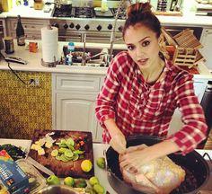 La famille de Jessica Alba fête Thanksgiving