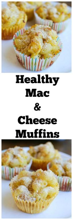 These Healthy Mac and Cheese Muffins are a fun, lunchbox friendly, spin on a kid-favorite. Since they're fun to eat and packed with flavor, kids won't even know they're filled with veggies! // A Cedar Spoon