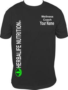 Herbal Apparel, Herbalife Shirt, Fit Club Wellness Coach Shirt,  Sku: 5-42-D2-Wellness Coach by KreativelyKustom on Etsy