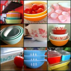 Glad I'm not alone in obsessively wanting to show off my vintage Pyrex. Put those babies out where the sun can shine on them!