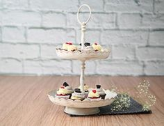 It is time to spread some sweetness in your house party with this tea time cake platter. It is perfect for some fun times!