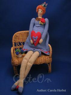 tilda,crochet toy