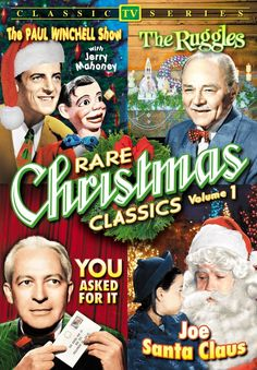 Rare Christmas TV Classics - Volume 1 (The Paul Winchell Show / The Ruggles / You Asked For It / Joe Santa Claus) Christmas Tv Shows, Christmas Episodes, Christmas Carol, Christmas Movies, Paul Winchell, Alpha Video, The Originals Show, Love And Forgiveness, Balloon Animals