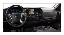 "Alpine - 9"" - Built-In GPS - CD/DVD - Built-In Bluetooth - Built-In HD Radio - In-Dash Deck for Most 2007-2013 GM Trucks - Black, X009-GM2"