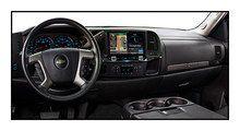 "Alpine - 9"" - Built-In GPS - CD/DVD - Built-In Bluetooth - Built-In HD Radio - In-Dash Deck for Most 2007-2013 GM Trucks - Black, X009-GM2"