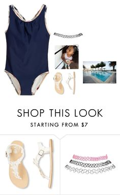 """""""Pool"""" by conceitedlo ❤ liked on Polyvore featuring Burberry and Wet Seal"""