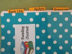 tabs for reading journals  Third Grade Thinkers