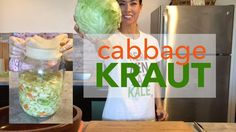 How to Make Sauerkraut at Home | Easy Cabbage Kraut in a Mason Jar and D...