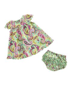 Take a look at this Tutti Frutti Dress & Bloomers on zulily today!