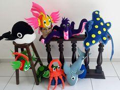 CHAPÉUS DE PEIXES, CHAPÉUS DO FUNDO DO MAR, CHAPEU DE PEIXES, chapéus de peixes, chapéu do fundo do mar, festas e fantasias, fantasias de peixes, decoração fundo do mar, hats, caps,