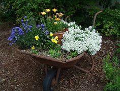 Shabby Chic in the Garden: Lovely ideas