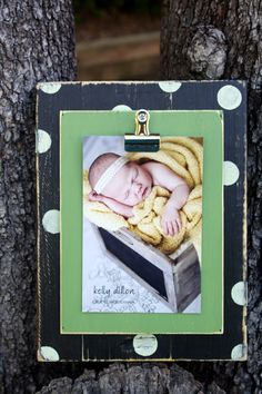 Distressed Picture Frame Picture Frame by WestAshleyWallArt Distressed Picture Frames, 4x6 Picture Frames, Picture On Wood, Photo Projects, Diy Wood Projects, Wood Crafts, Framed Recipes, Recipe Holder, Clip Frame