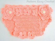 Crochet Diaper Cover Pattern Tutorial