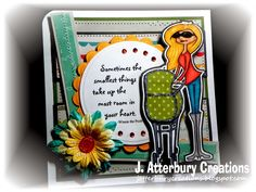 J. ATTERBURY CREATIONS: The Smallest Things Card---Another Wonderful Anything Goes Challenge with a Twist Happening at 613 Avenue Create! Join us...
