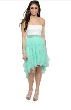 My dress for the dance! ❤ | Dresses | Pinterest | Wedding ...
