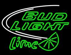 Bud Light Lime Beer Neon Bar Sign   Bud Light Neon Beer Signs & Lights ...