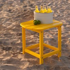 Have to have it. POLYWOOD® Recycled Plastic South Beach 18 in. Side Table - $99 @hayneedle