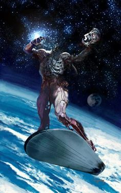 Silver Surfer Zombie