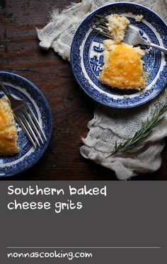 Southern baked cheese grits | Before I left my home in New Orleans for ...
