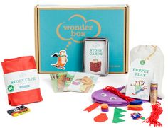 A 3-6 year old sample box
