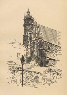 Kościół Bożego Ciała - Leon Wyczółkowski