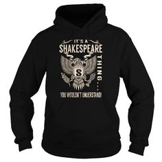 Awesome Tee Its a SHAKESPEARE Thing You Wouldnt Understand - Last Name, Surname T-Shirt (Eagle) T-Shirts