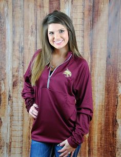 Keep yourself stylin in this new Texas State active Under Armour top! What better way to show your school spirit?