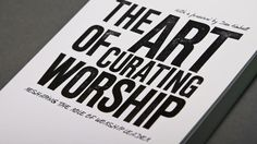 Effective worship needs to be seen as an art form made up of a series of art works, rather than a mechanistic task of filling in the gaps in an order of service. At the heart of this new way of thinking about worship is the role of the worship curator. Many practical examples are used to illustrate ways in which worship, both inside and outside the church building, can be curated and delivered for spiritual formation and mission.