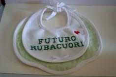 Bavaglino Bambino Futuro Rubacuori di FiloAgoFantasia su Etsy