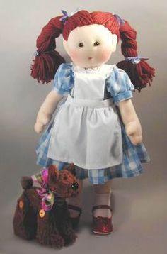 Dorothy pattern  Doll Sewing Pattern  18 inch by MorrisseyDolls2