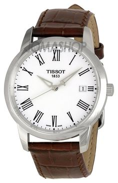 Tissot T-Classic Dream White Dial Mens Watch T033.410.16.013.00
