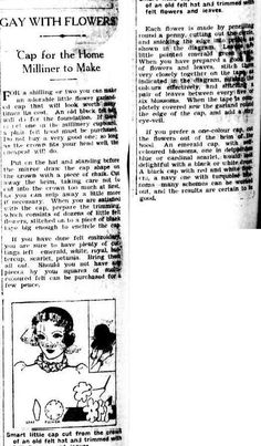 The Canberra Times (ACT : 1926 - 1995), Wednesday 22 September 1937, page 2 little cap