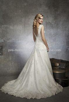 1930s and 1950s Inspired Gorgeous Wedding Dresses   Weddingomania ...