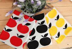 Scandinavian Style Simple Apple Pattern Cotton by luckyshop0228